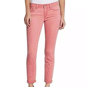 Jessica Simpson Rolled Crop Skinny in Pink Size 12